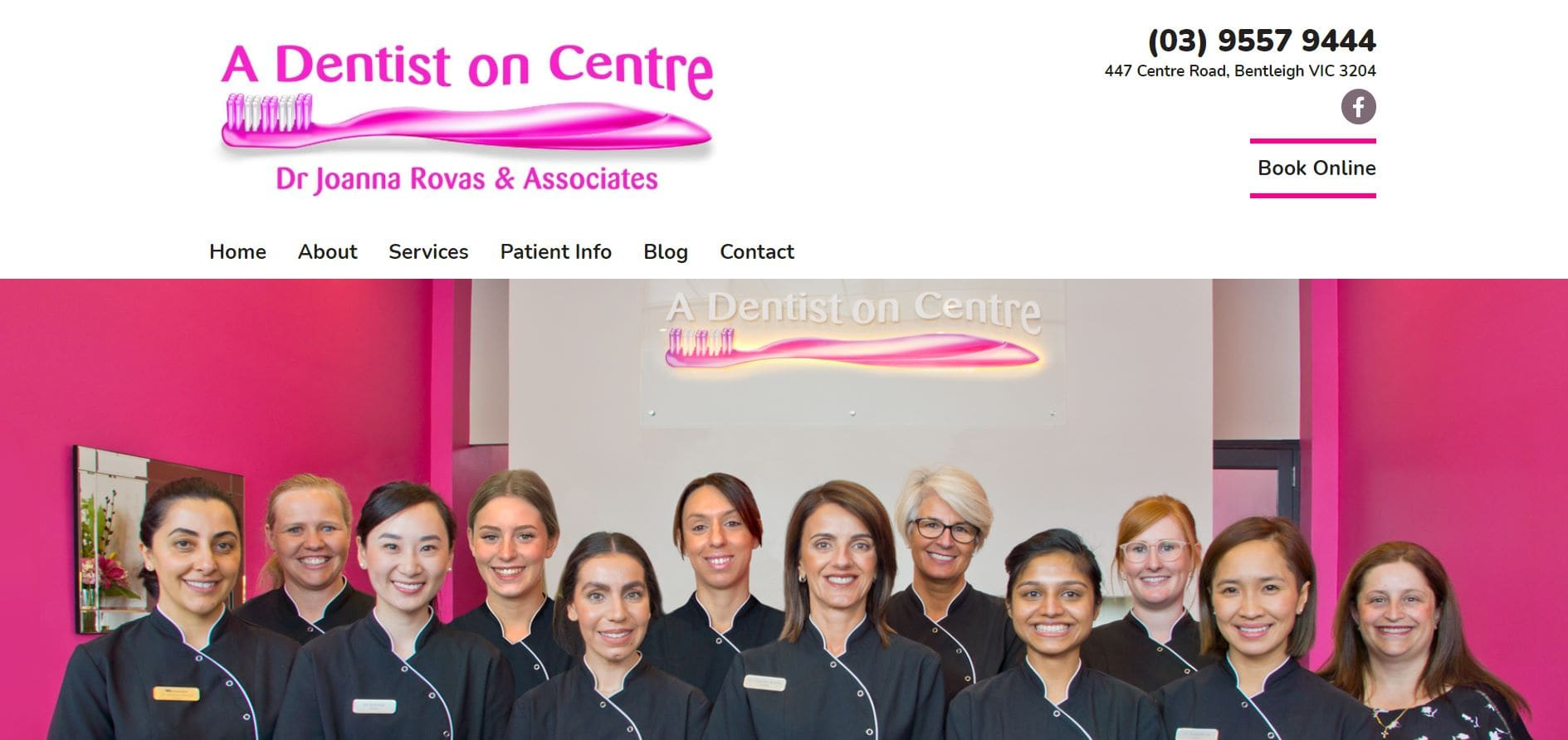 a dentist on centre