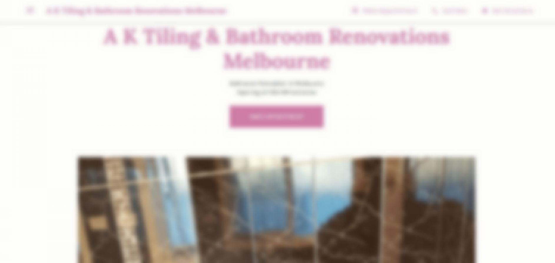 a k tiling bathroom renovations melbourne