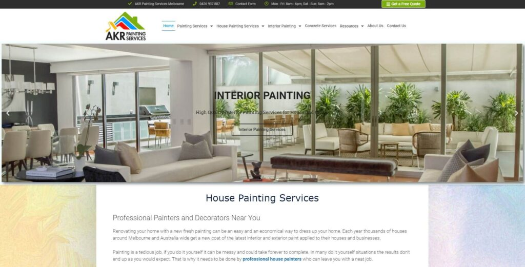 akr painting services