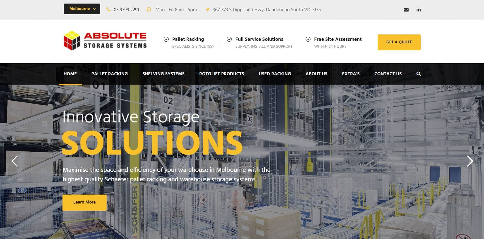 absolute storage systems