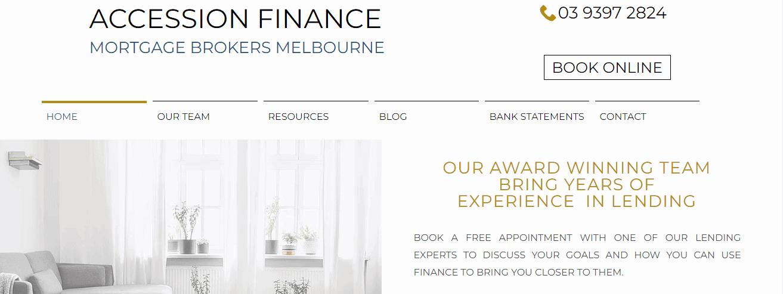 accession finance