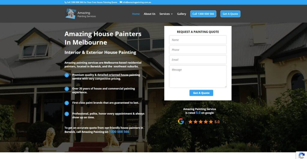 amazing painting services