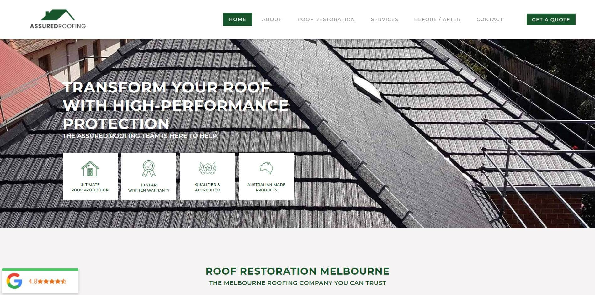 assured roofing