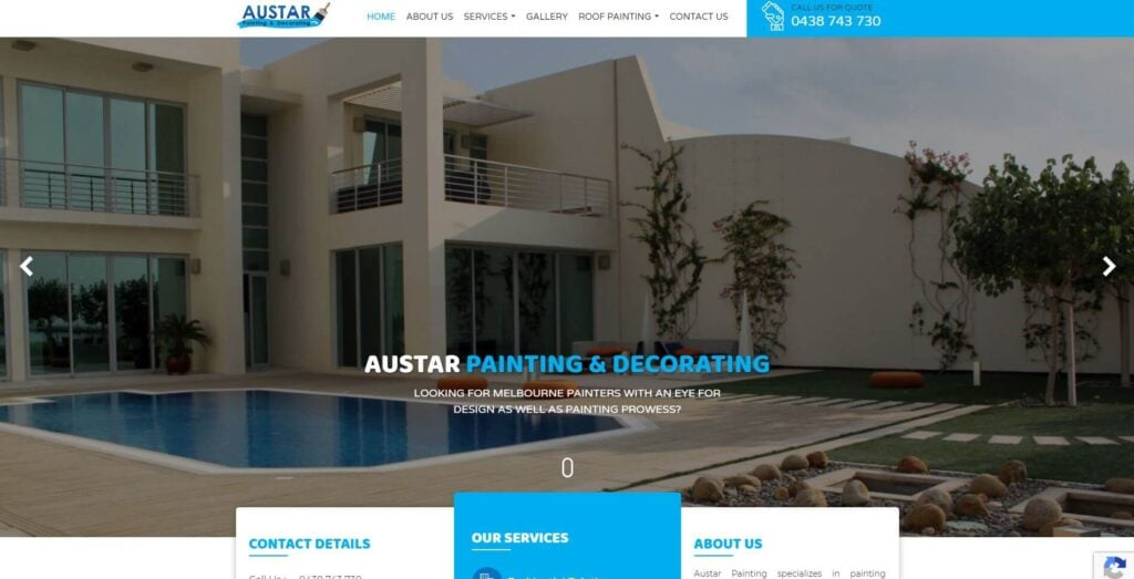 austar painting and decorating