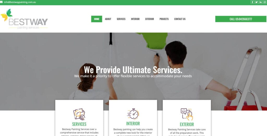 bestway painting services