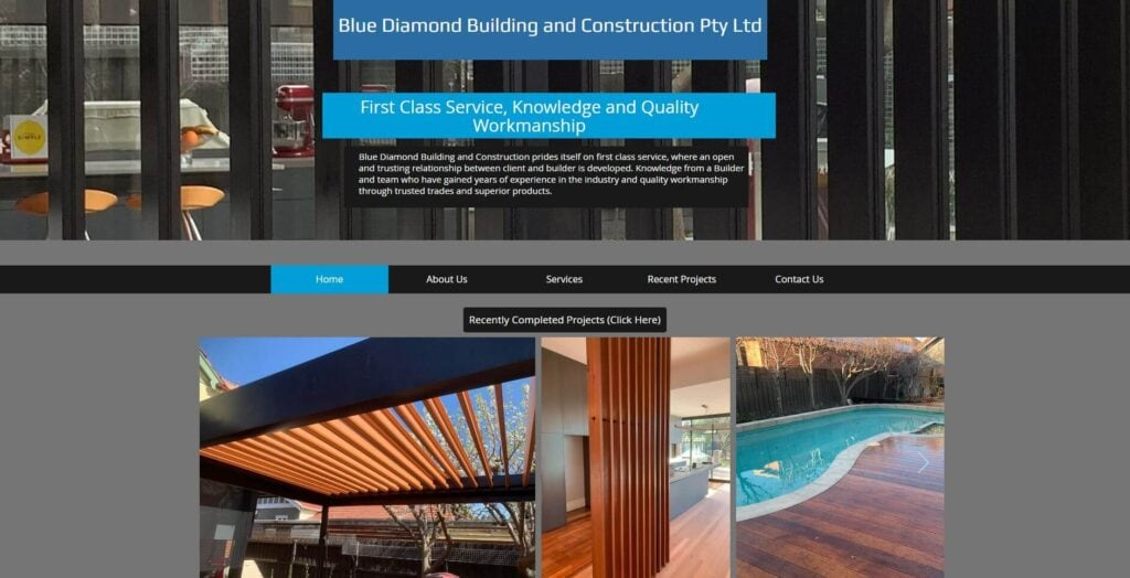 blue diamond building and construction