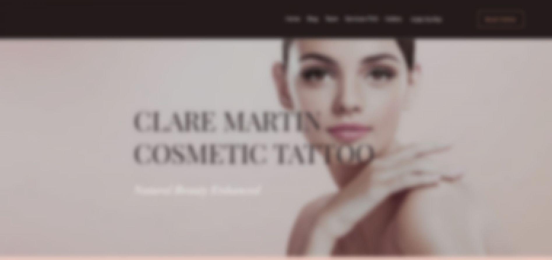 clare martin cosmetic tattoo