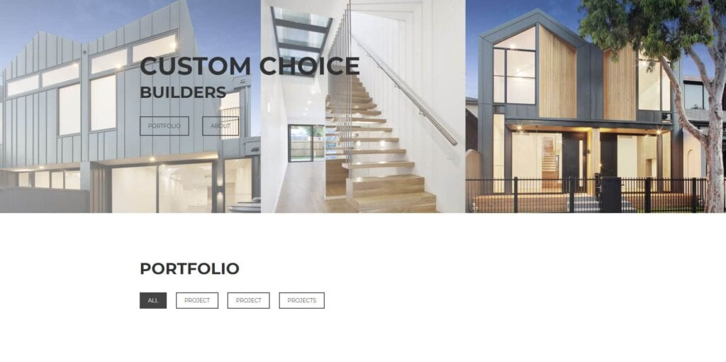 custom choice builders