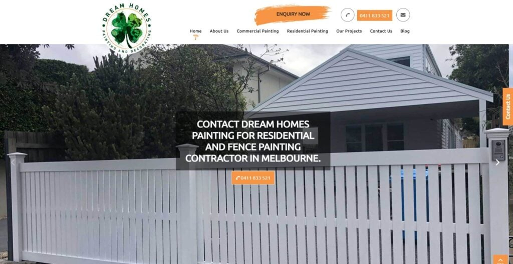 dream homes painting and decorating