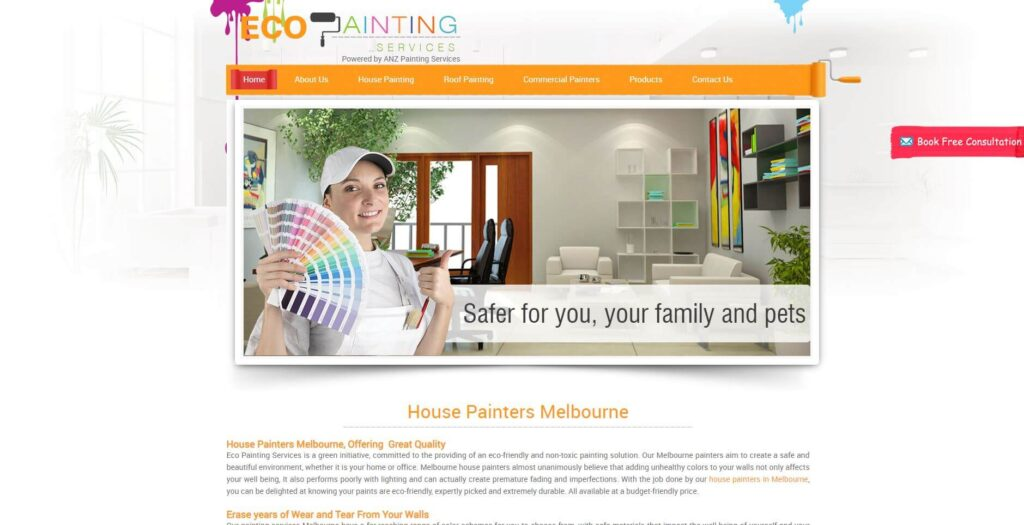eco painting services