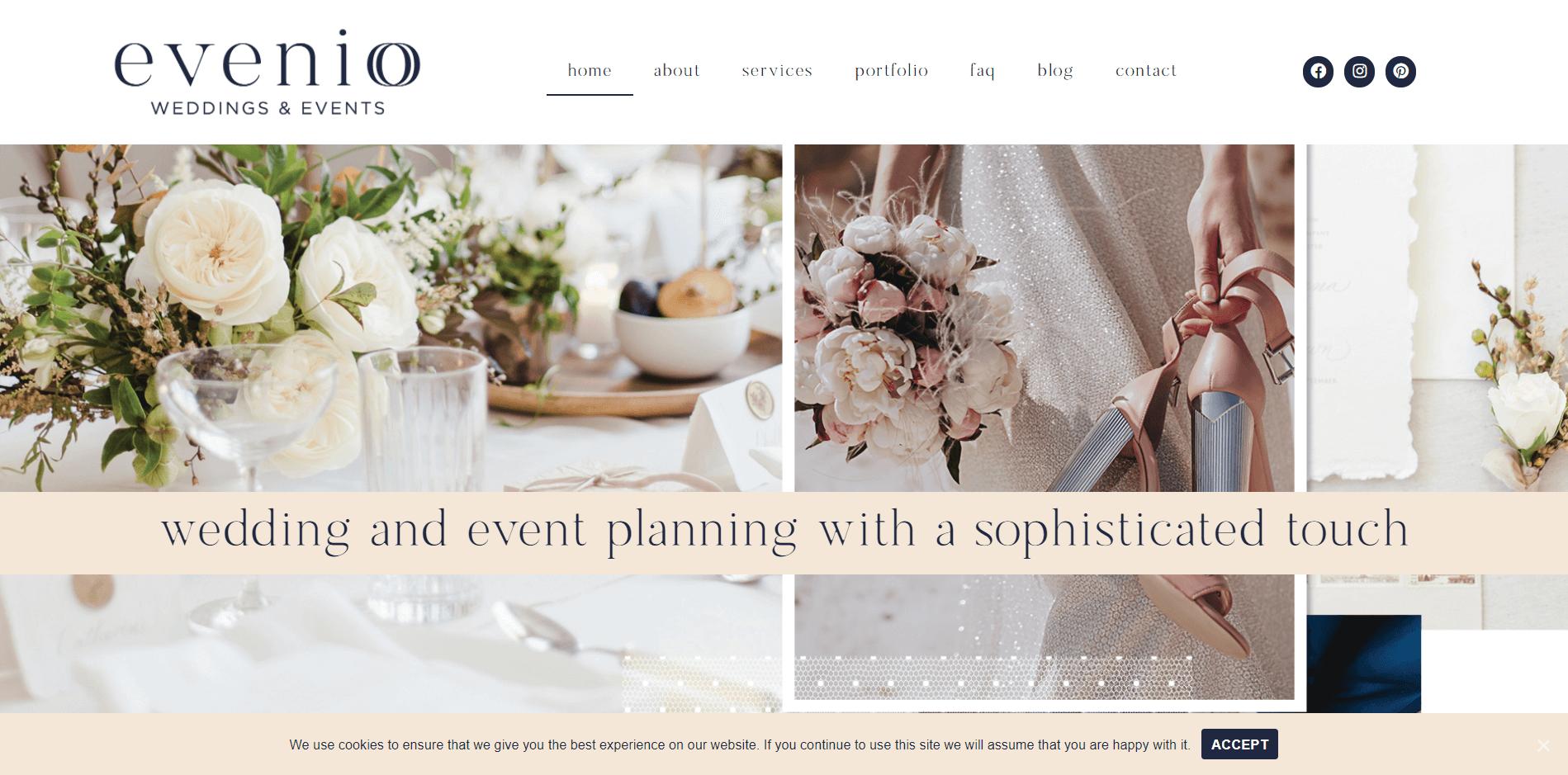 evenio weddings and events pty ltd
