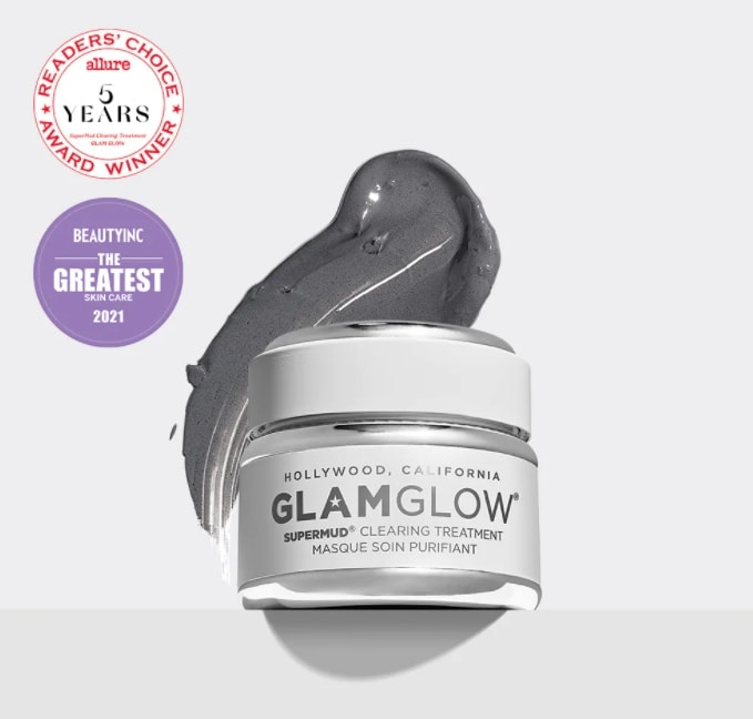 glam glow charcoal face mask