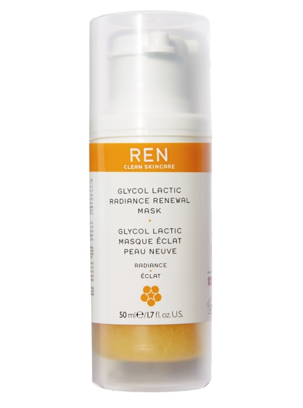 glycol lactic radiance renewal skin brightening face mask