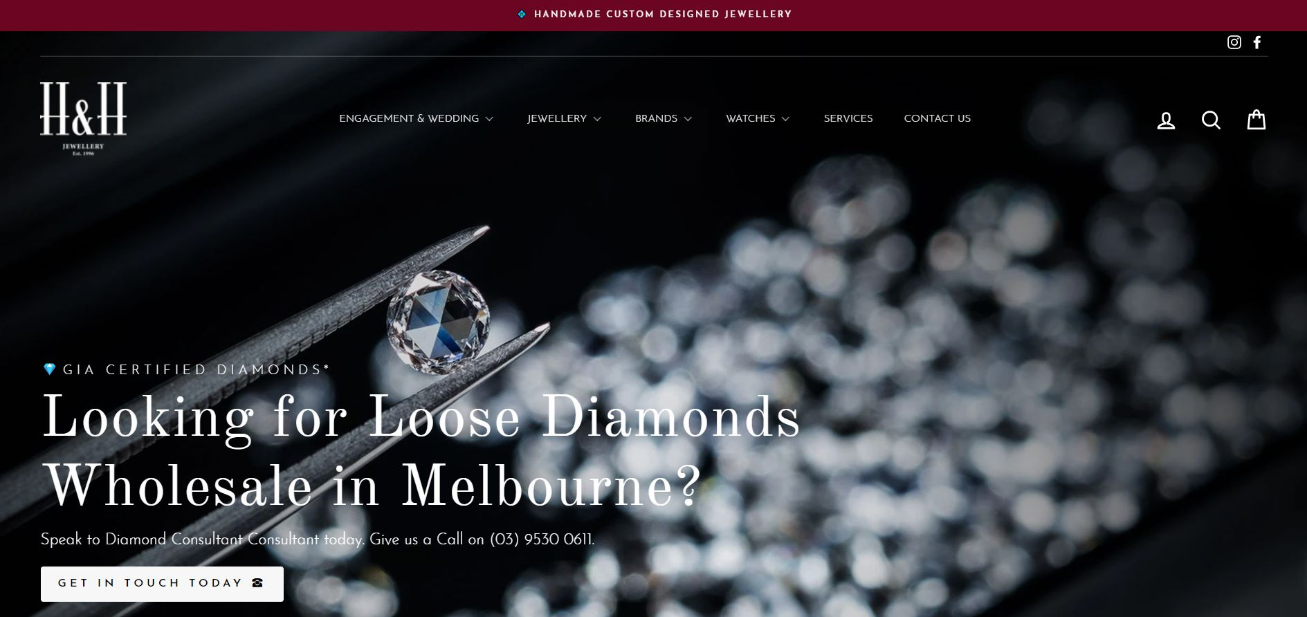 h&h jewellery stores melbourne