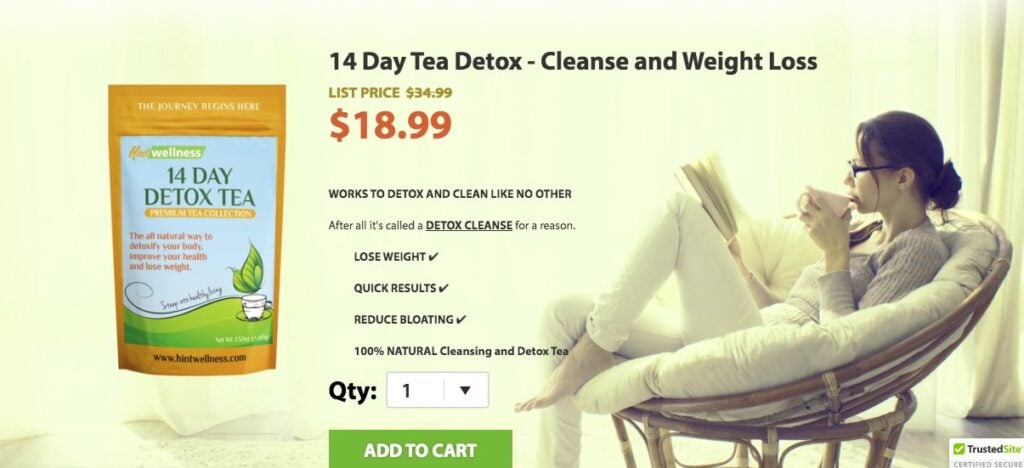 hint wellness detox cleanse drink