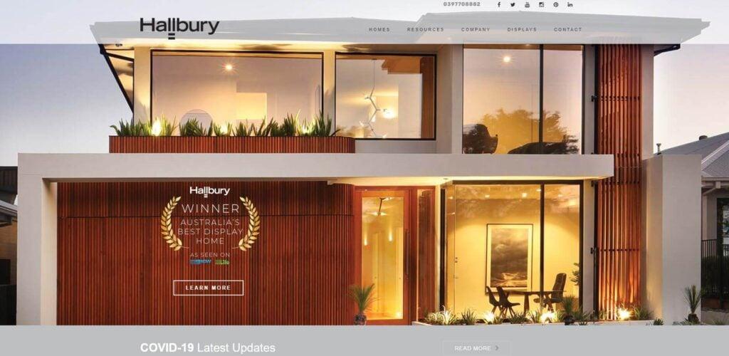 hallbury homes