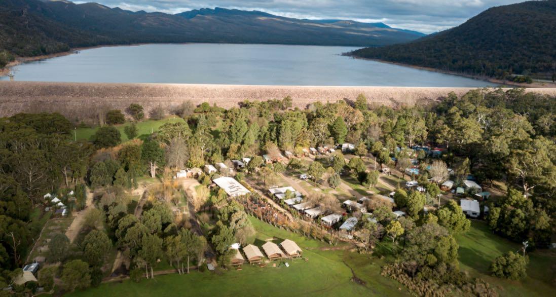 halls gap lakeside tourist park ask melbourne