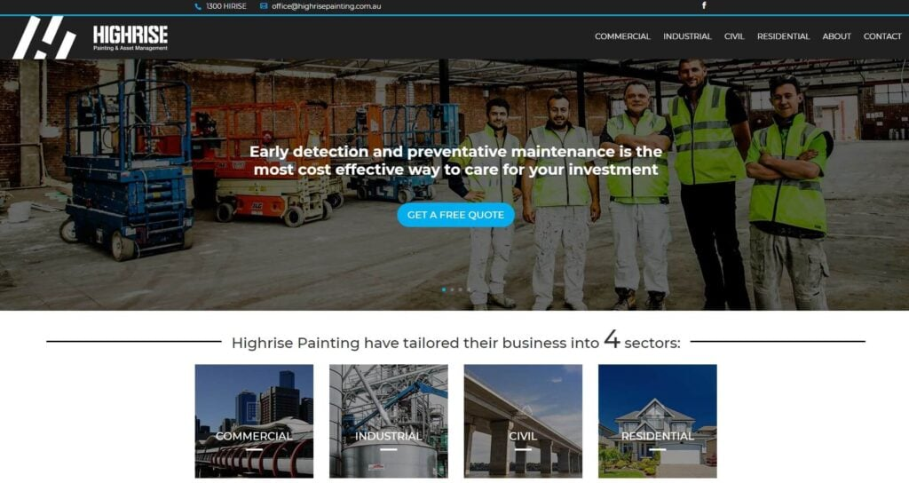 highrise painting asset management