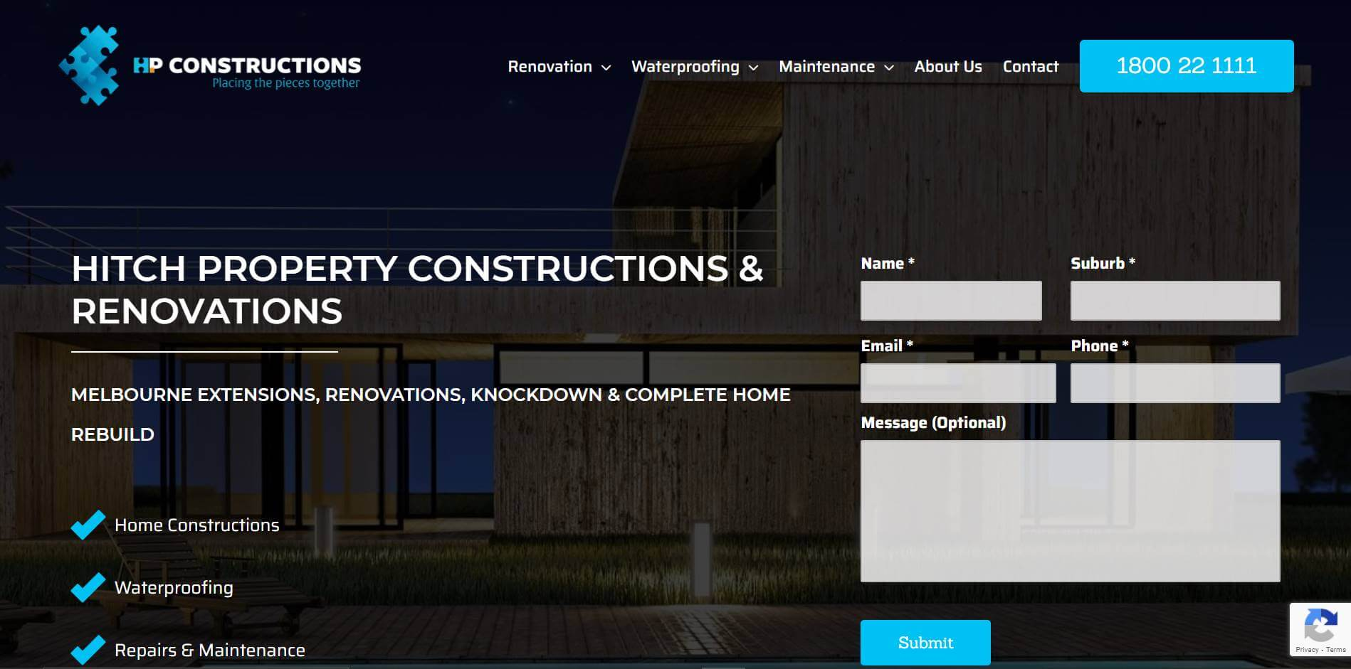 hitch property constructions