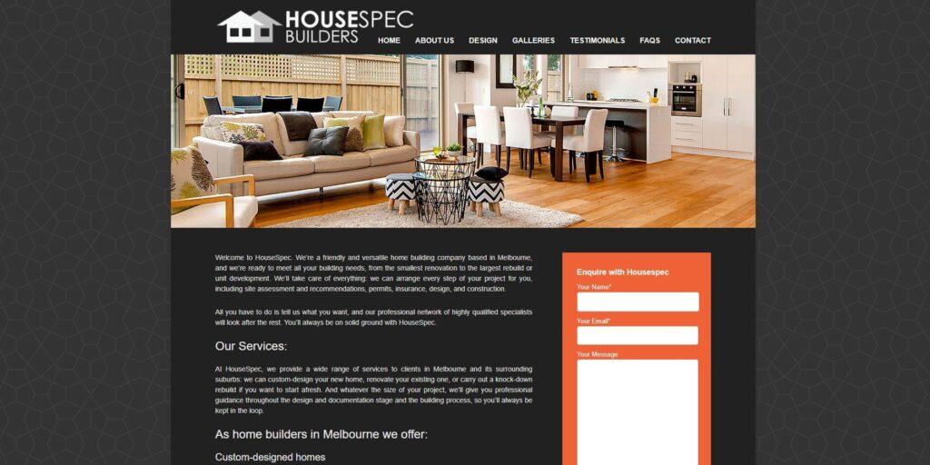 housespec builders