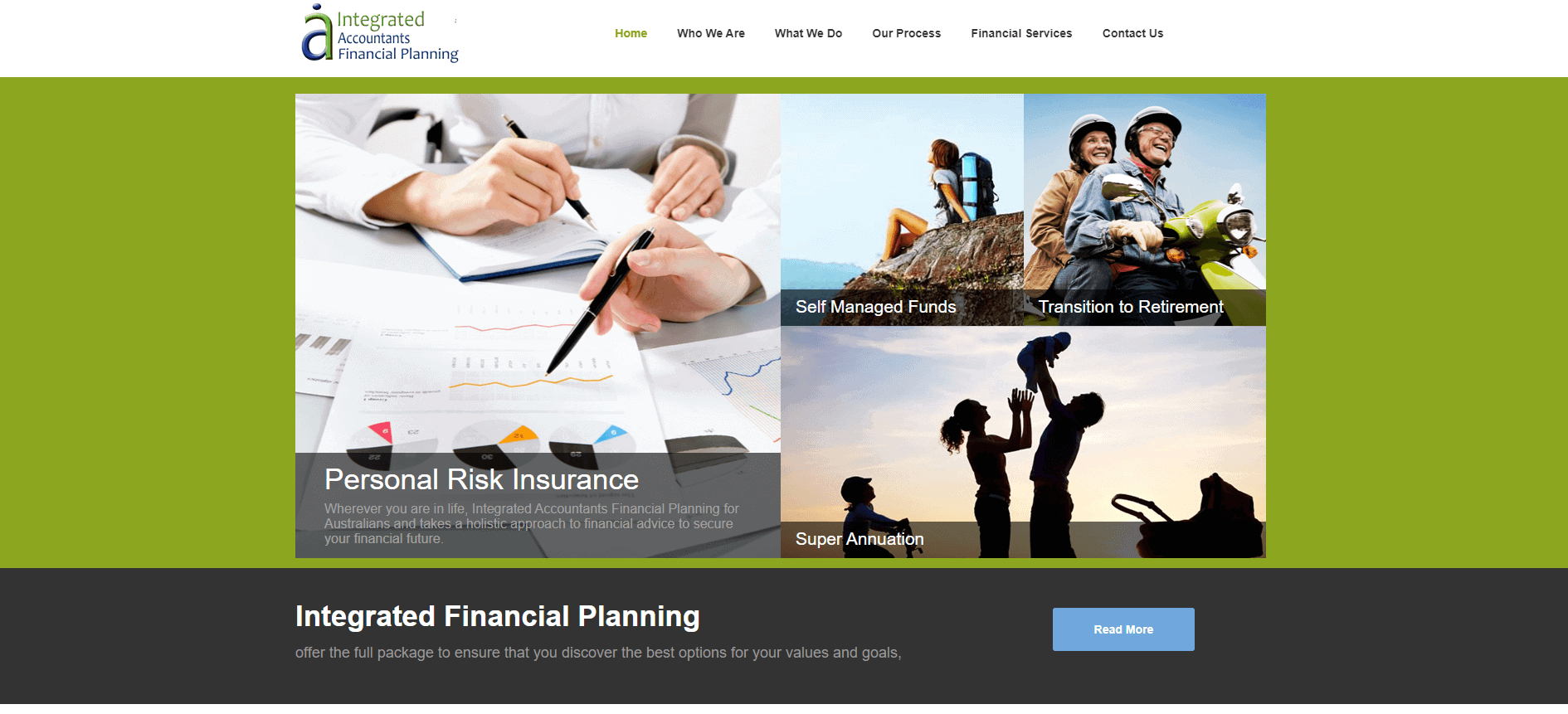 integrated accountants financial plannning