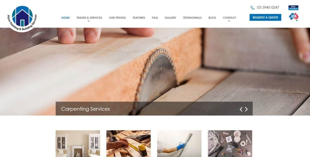 joyce painting building services