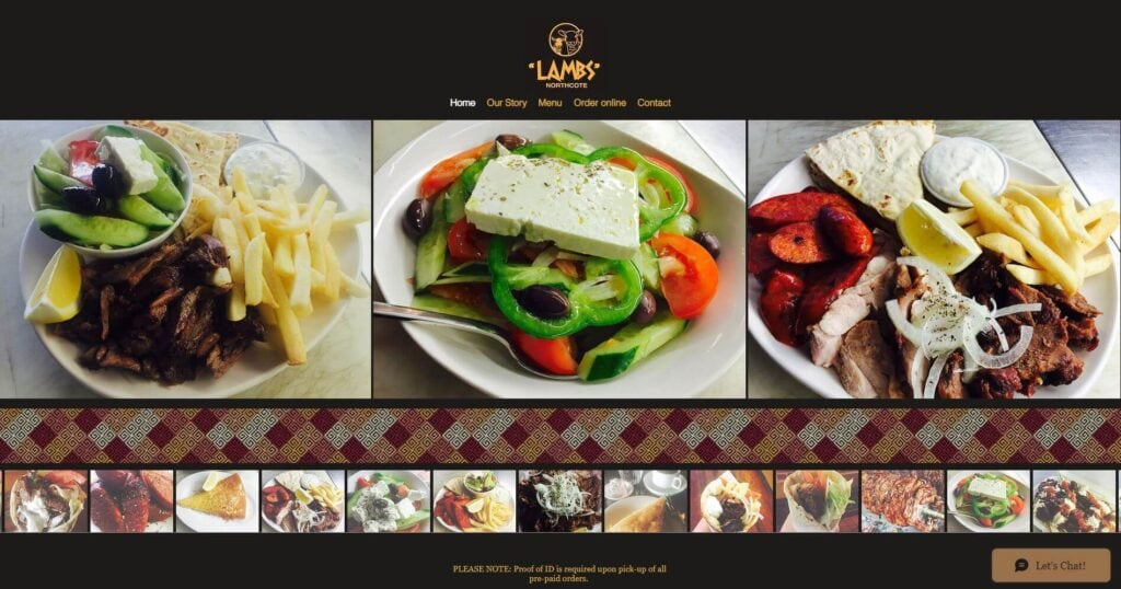 lambs restaurant