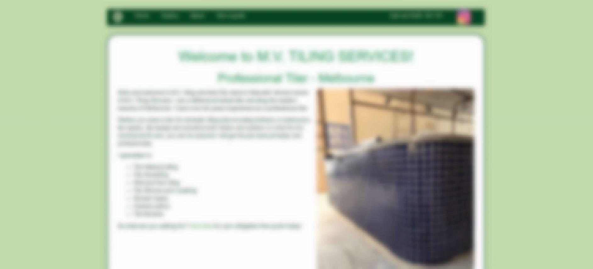 m.v. tiling services
