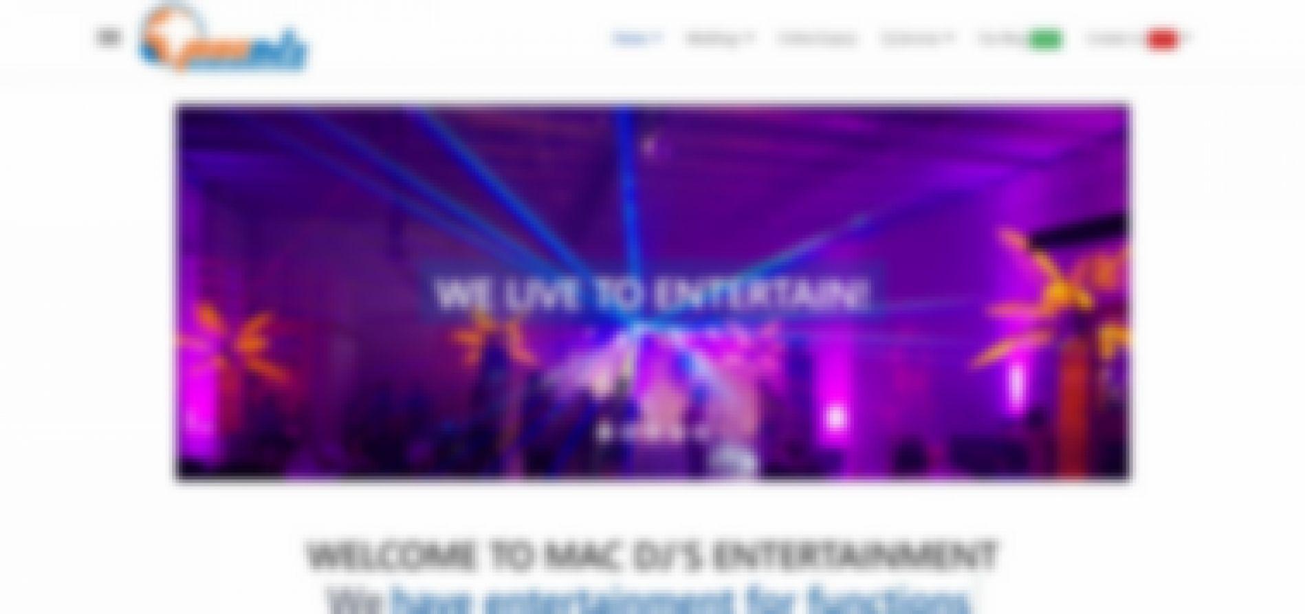 mac dj's entertainment