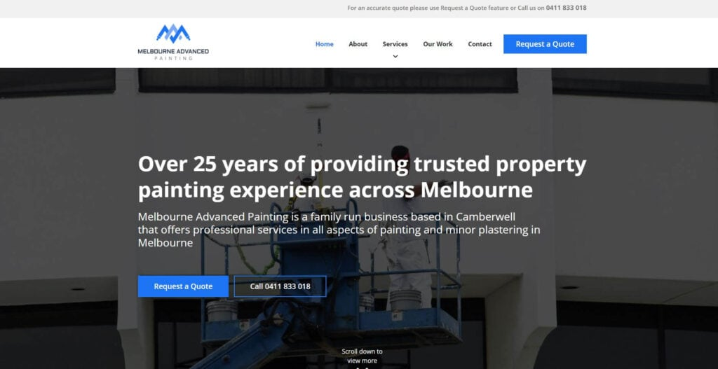 melbourne advanced painting