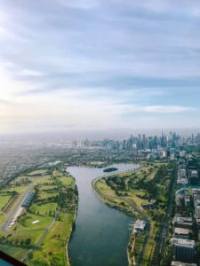melbourne areal photography