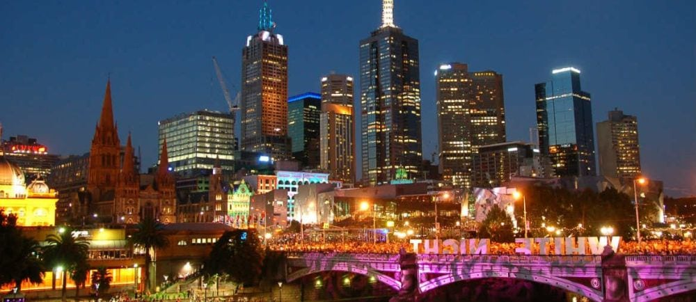 Melbourne Night City