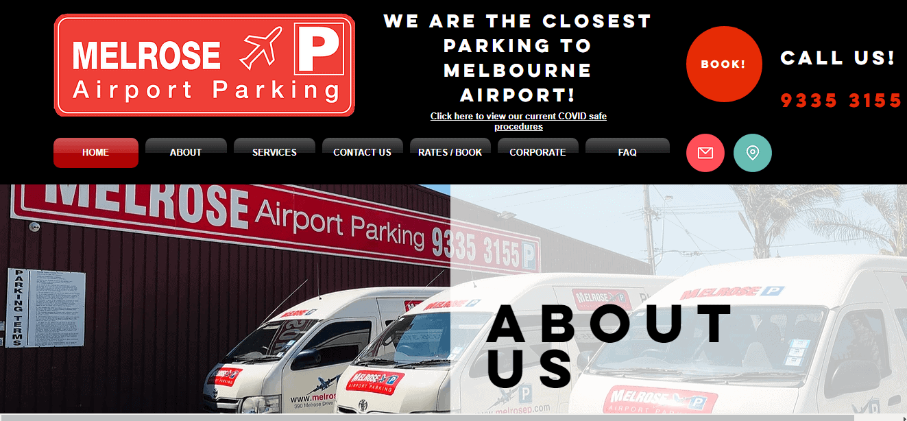 melrose airport parking