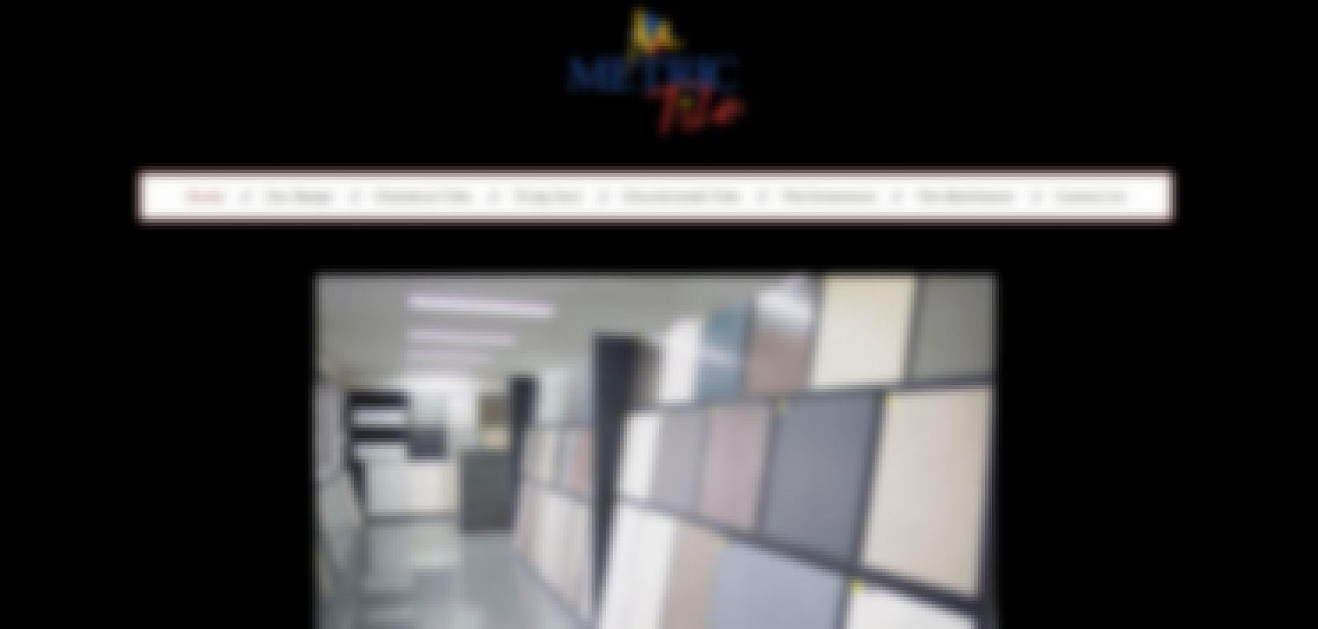 metric tile