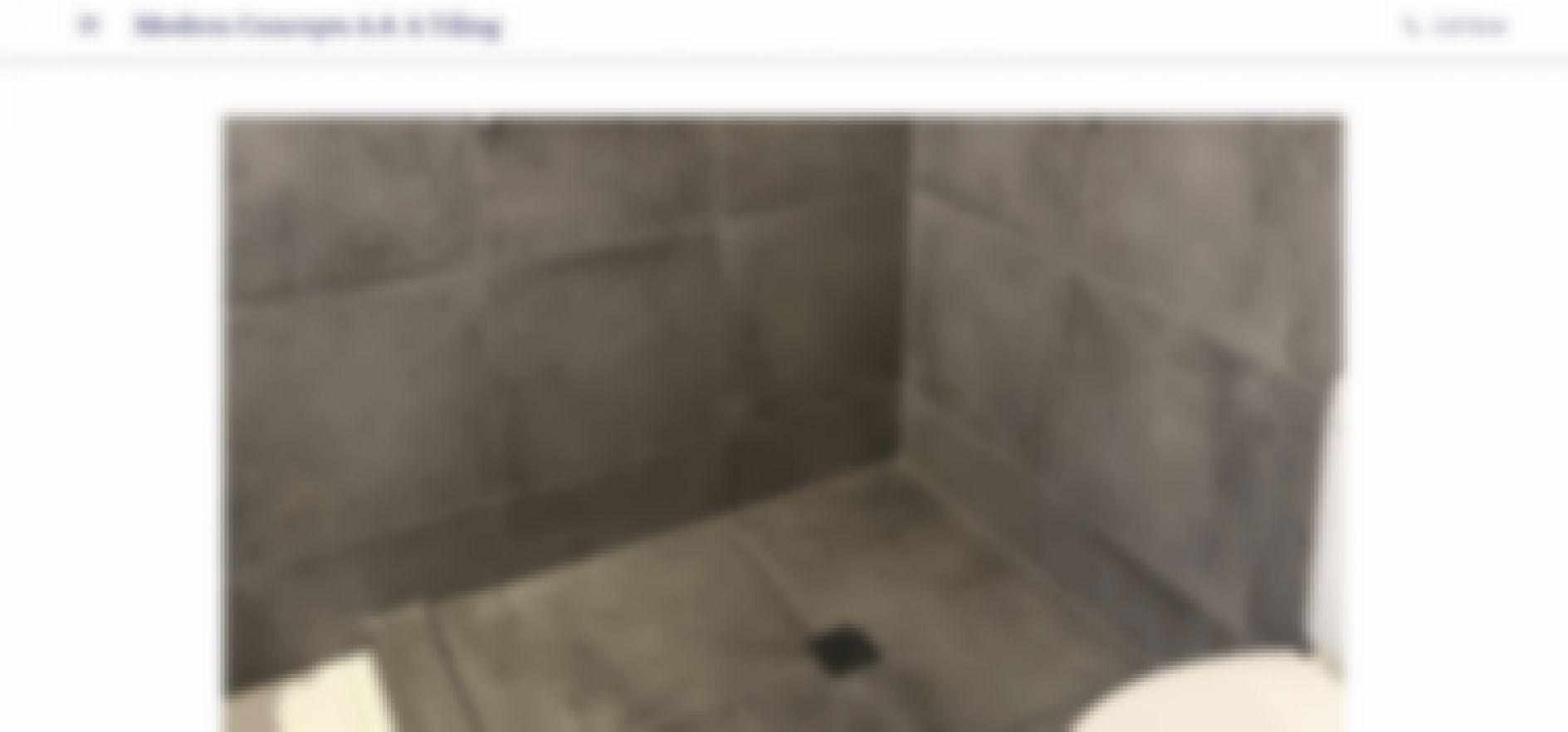 modern concepts a a tiling