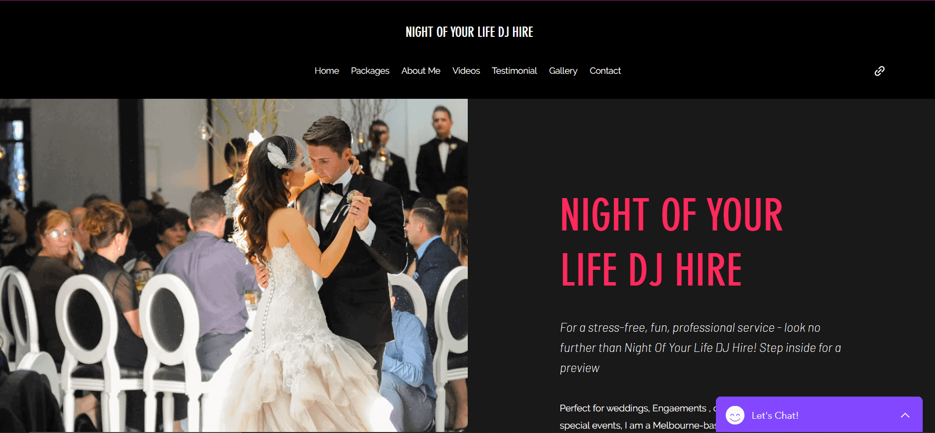 night of your life dj hire