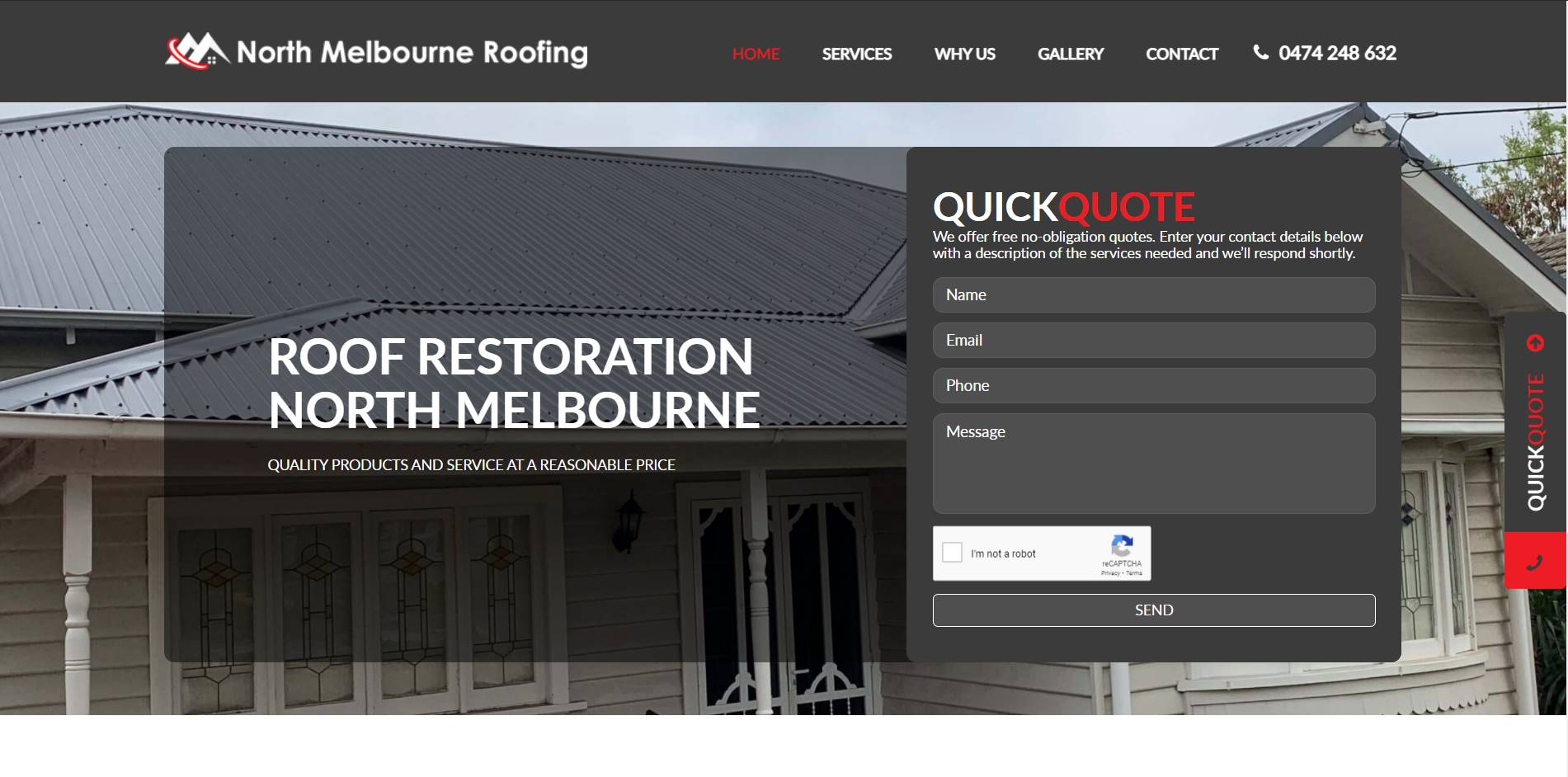 north melbourne roofing