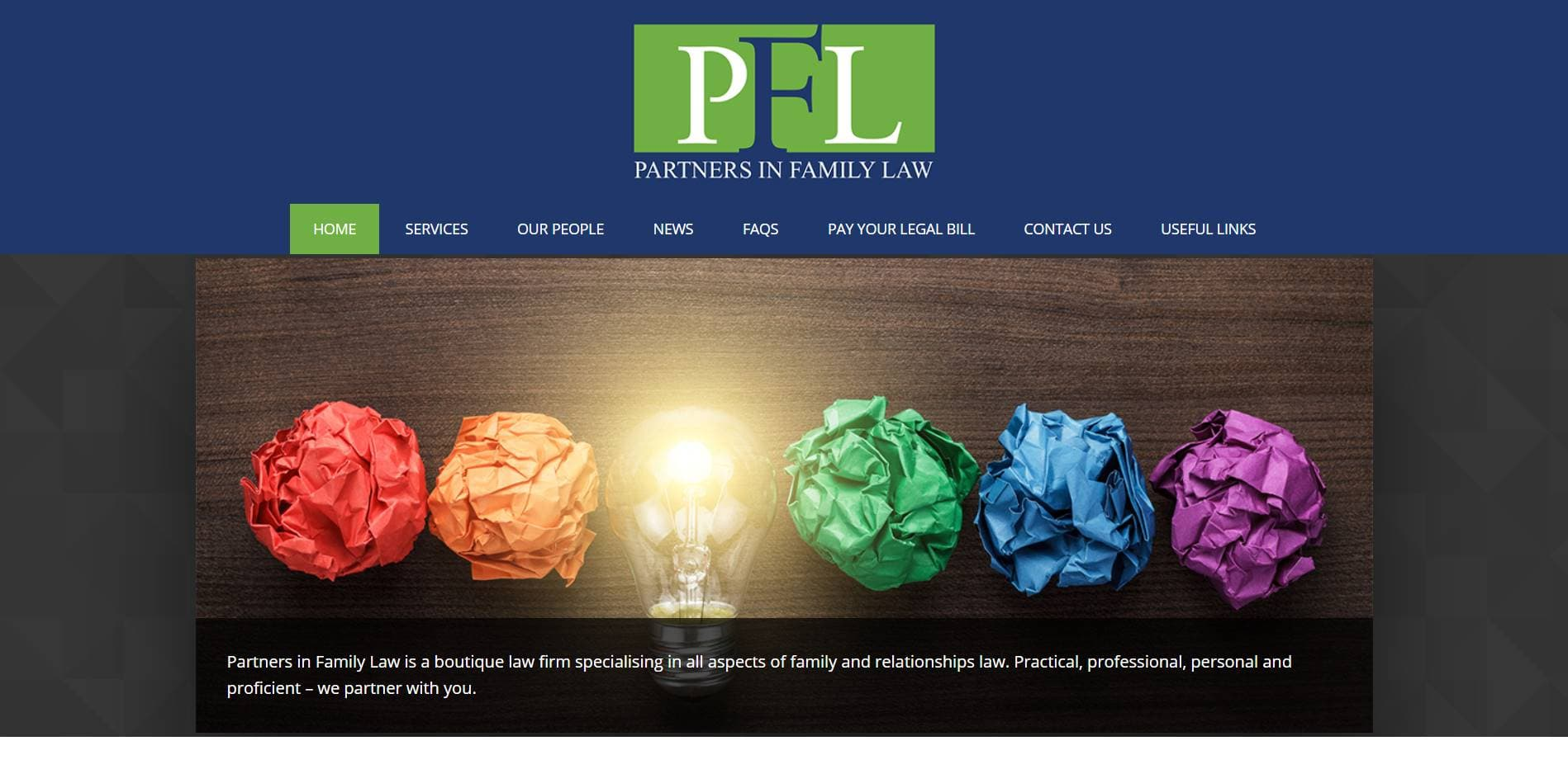 partners in family law