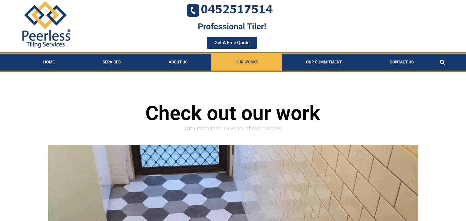 peerless tiling
