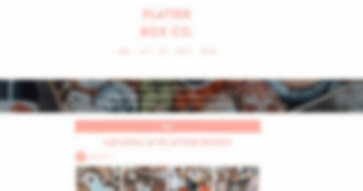 platter box co 13