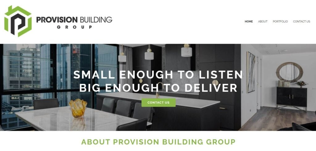 provision building group