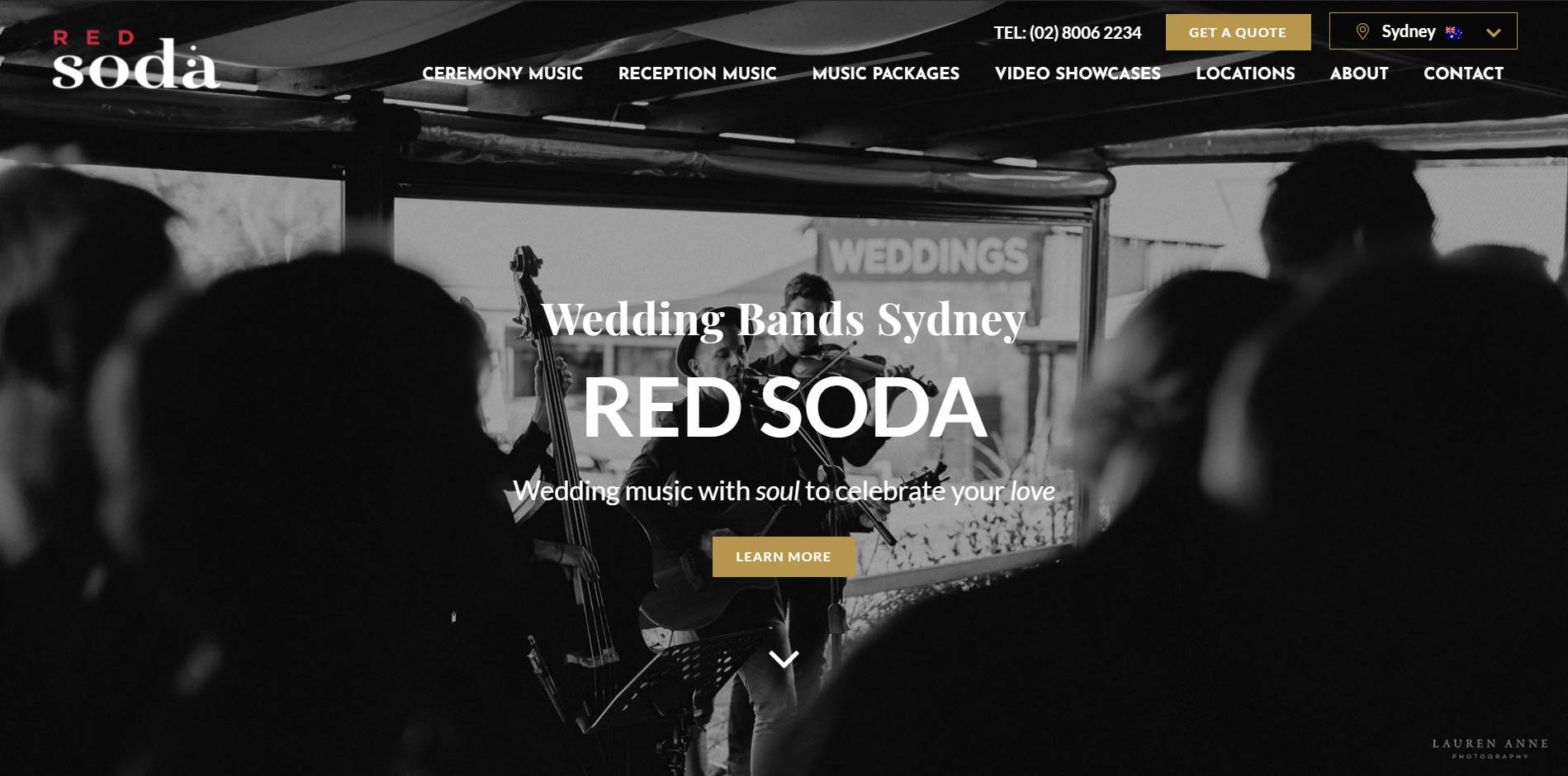 red soda band