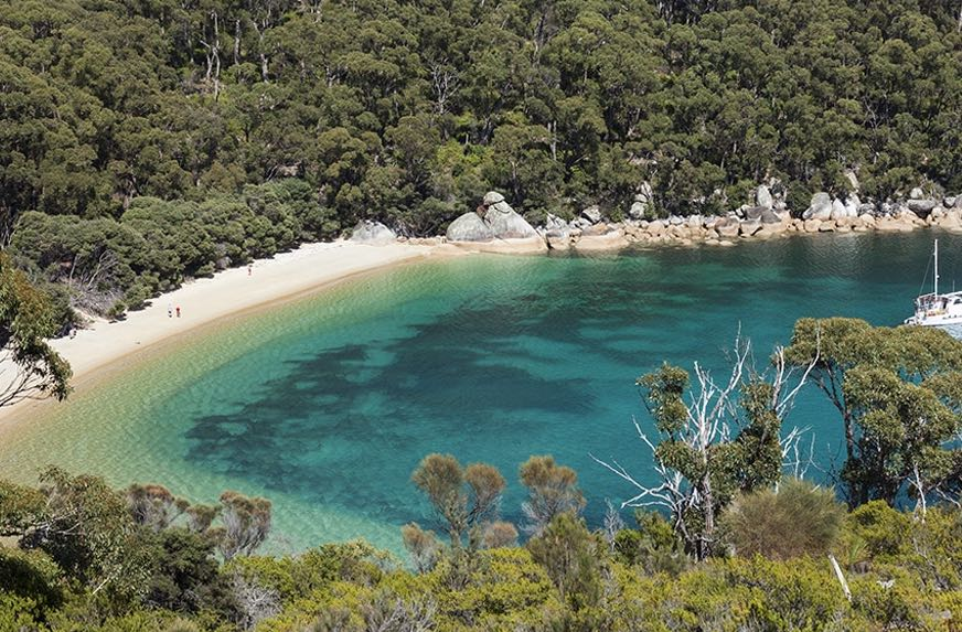 refuge cove, wilsons promontory ask melbourne