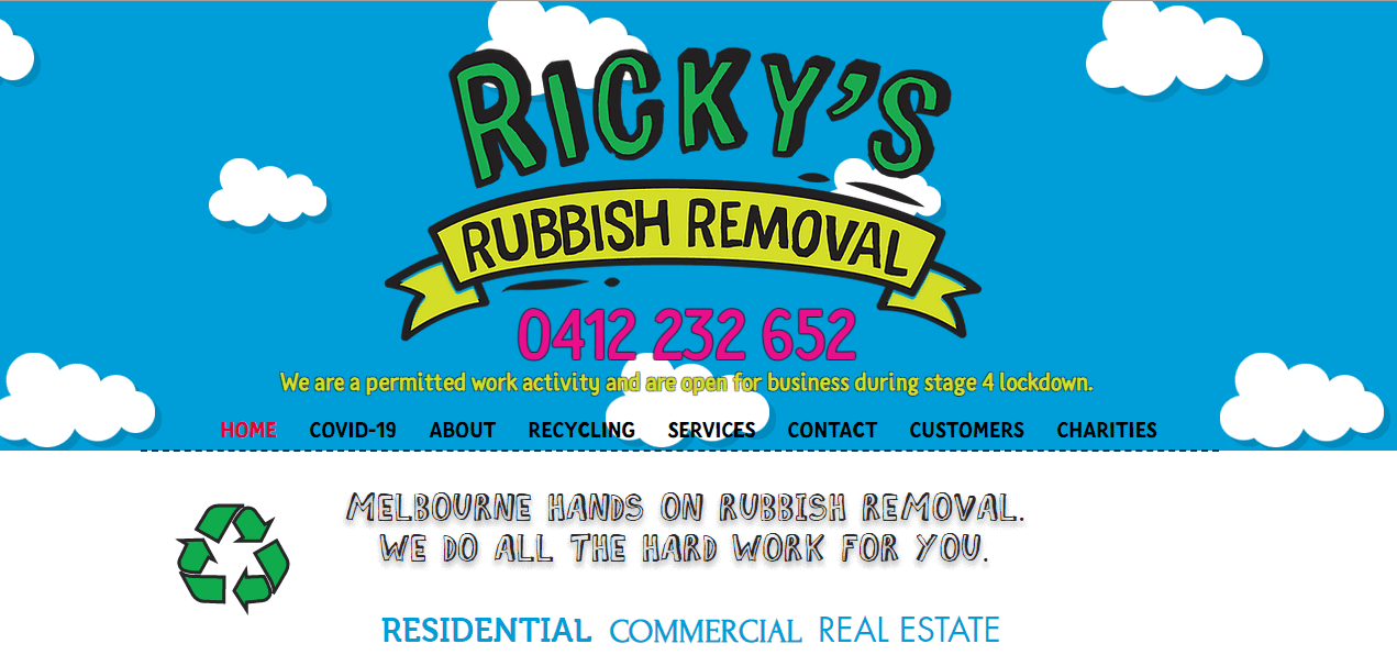 ricky's rubbish removal