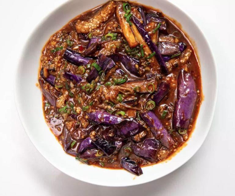 sichuan fried eggplant ask melbourne