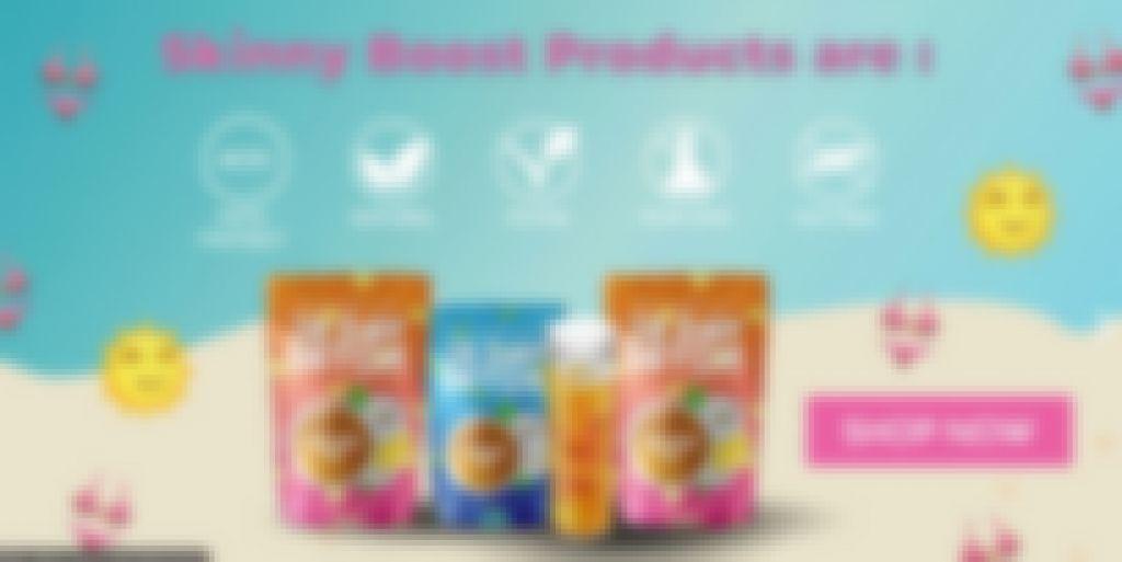 skinny boost detox cleanse drink