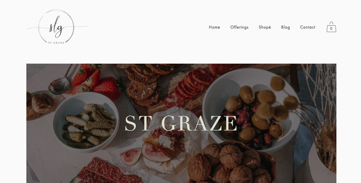 st. graze grazing table melbourne