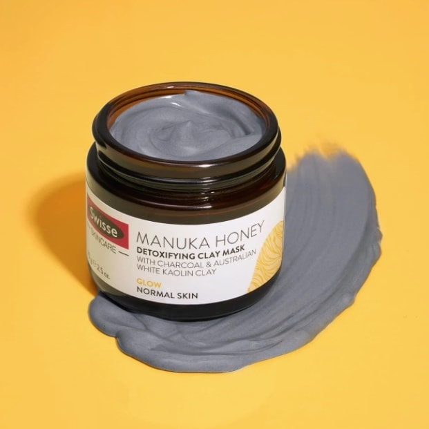swisse manuka honey detoxifying clay mask