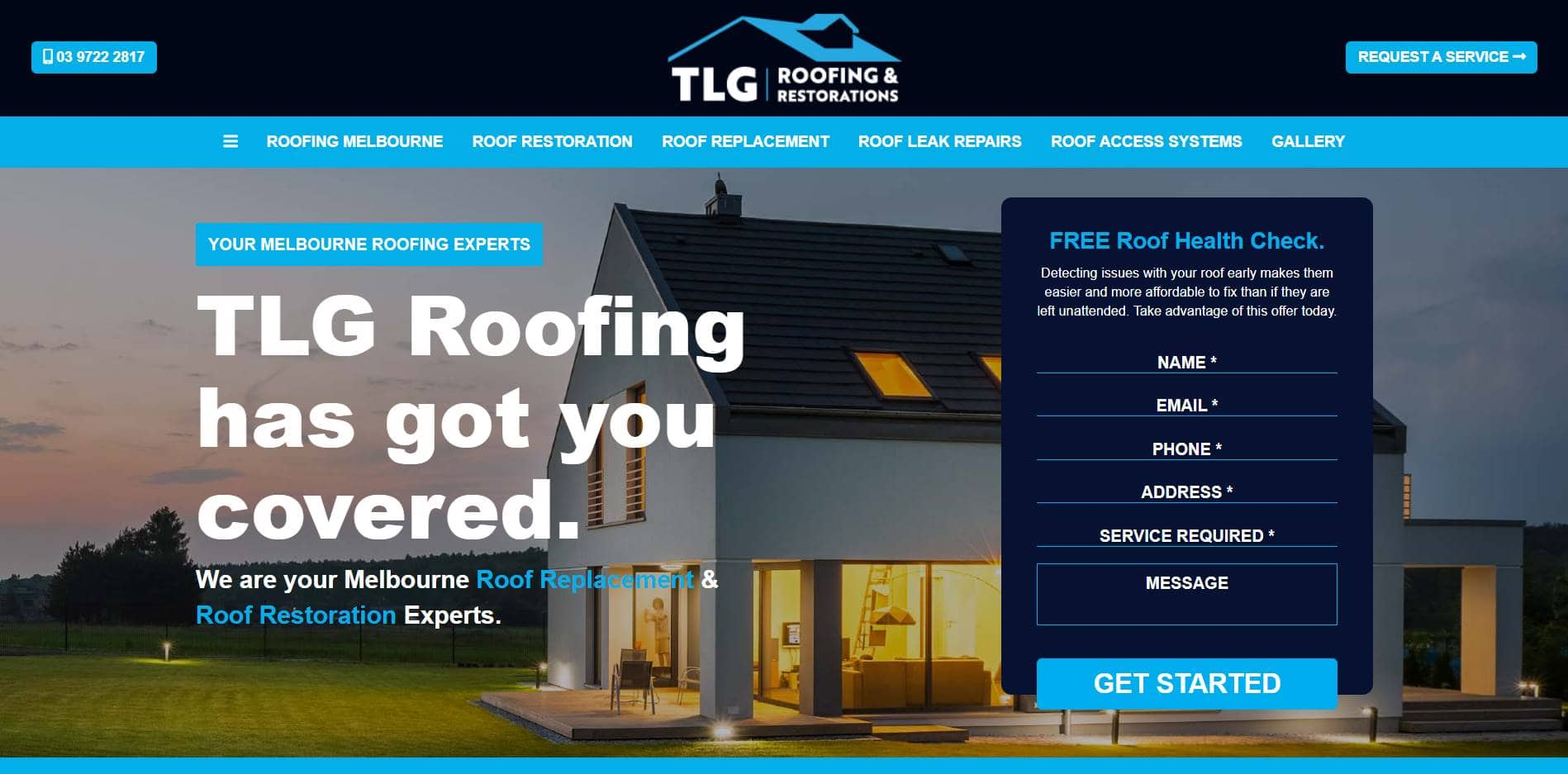 tlg roofing