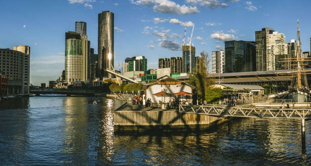 the boatbuilders yard new year's dinner idea melbourne